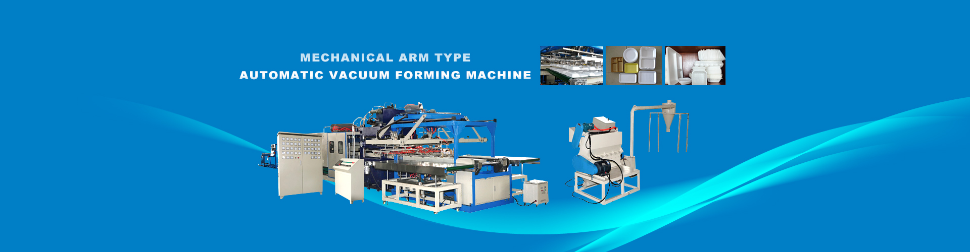 Mechanical Arm Type AutomaticVacuumForming Machine