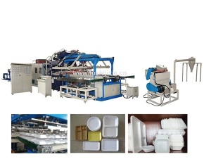 Mechanical Arm Type Automatic Vacuum Forming Machine